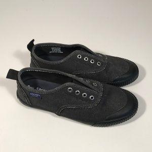 Paul Sperry Canvas Sneakers Women Size 5.5 M